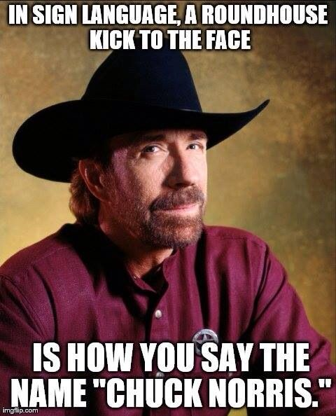Chuck Norris jokes never get old. Neither does Chuck Norris.  He lives beyond the time space continuum.