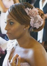 Maasai Twist Braid Wedding Hairstyle   Uzuri Belle Salon Braiding in Randburg, Johannesburg   https://www.facebook.com/Uzuri-Belle-Salon-Maasai-Twist-Braids-1554012664817949/