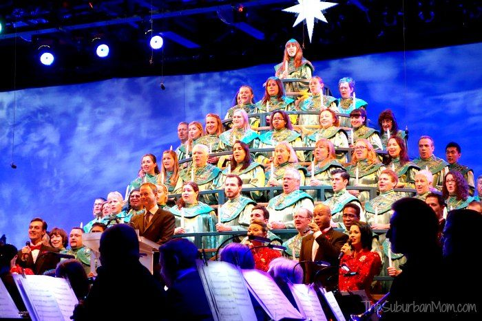 Epcot Disney Candlelight Processional Gary Sinise