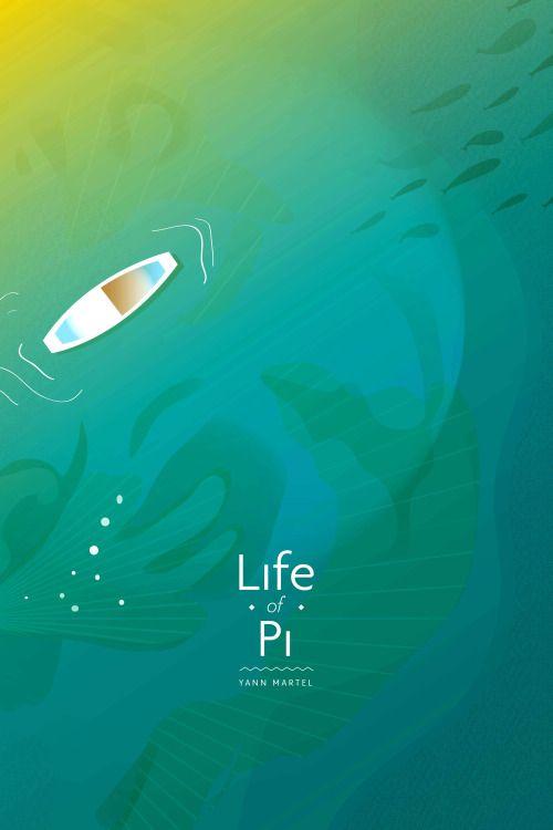 Life of Pi (2012) ~ Minimal Movie Poster by Ojasvi Mohanty #amusementphile