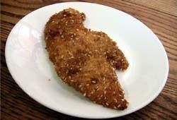 Kosher Israeli Chicken Schnitzel Recipe - Kosher Recipe for Fried Chicken Shnitzel