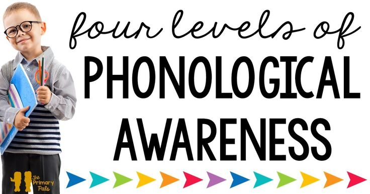 4 levels of phonological awareness. Great post!