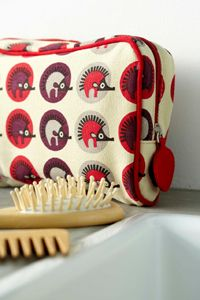 Tamelia Make-up bags are 100% cotton canvas