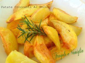 Le patate croccanti al forno sono un contorno che mette d'accordo tutti a tavola…saporite ed invitanti, croccanti!