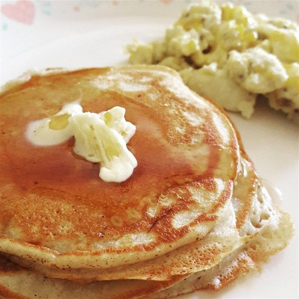Fluffy Pancakes/Four servings=4 smart points each serving