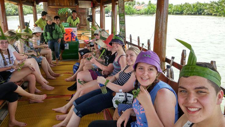 Inventive and classy! #VietnamSchoolTours #EcoTour
