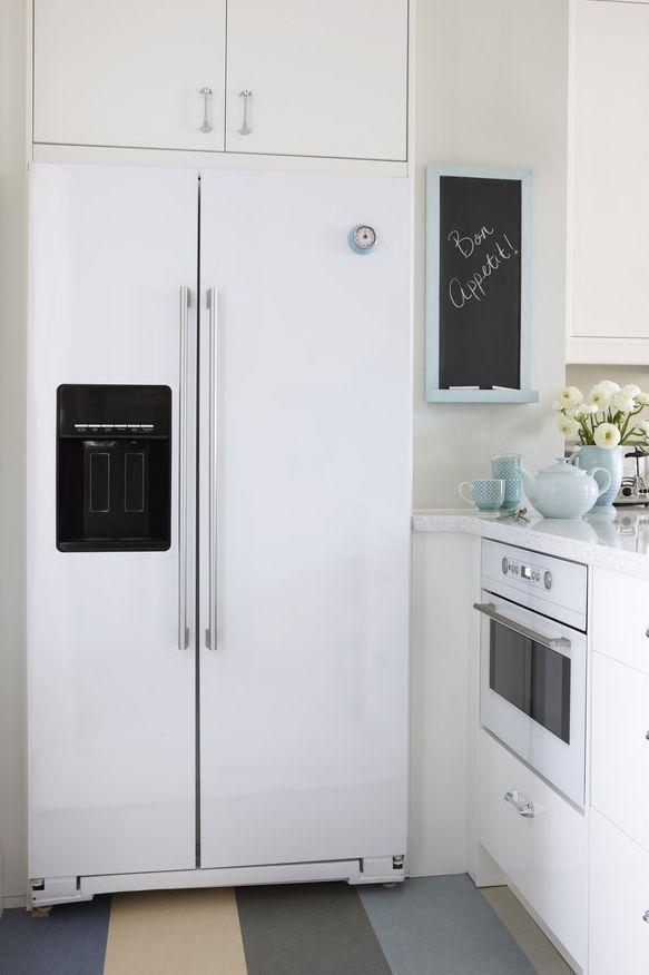 Die besten 25+ Tafel Kühlschrank Ideen auf Pinterest Kreidetafel - küche mit side by side kühlschrank