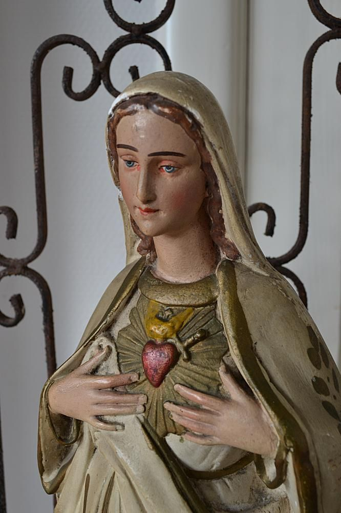 Maria beeld (Mary statue) www.blossombrocante.nl