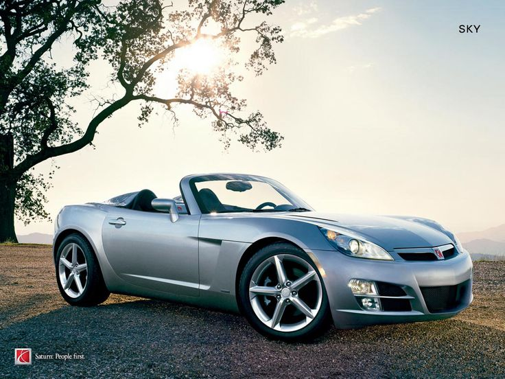 Saturn Sky--i hear angels sing every time I see this car!!  My gawd I love it!!!