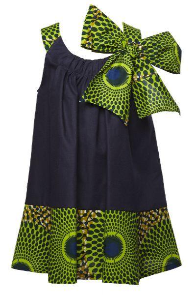 ♥Idées cadeaux Pagnifik 2012 - 1   Pagnifik Issossy Children: Africans Dresses For Girls, Denim Dresses, Lulu Dresses Bows, Dresses Bows Dresses, Ankara Dresses For Kids, Baby Girl, Africans Kids Clothing, Africans Kids Style, Africans Prints