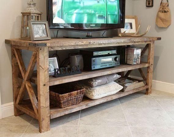 Rustic Tv Cabinets Living Room Tv Stand Farm House Living Room