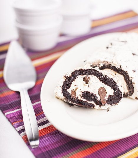 My máme rádi velké kousky čokolády. Pokud fandíte decentnějším, čokoládu do krému nastrouhejte nahrubo; Greta Blumajerová