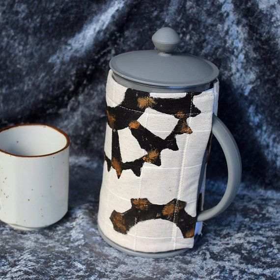Steampunk Coffee pot cosy. Coffee plunger by DragonzWenchEmporium