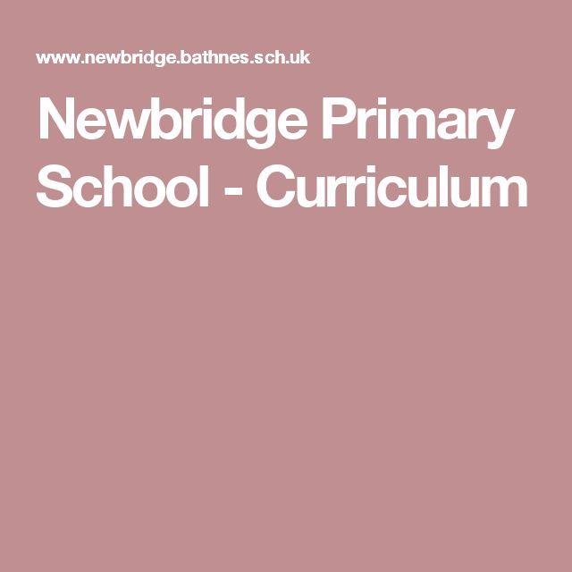 Newbridge Primary School - Curriculum