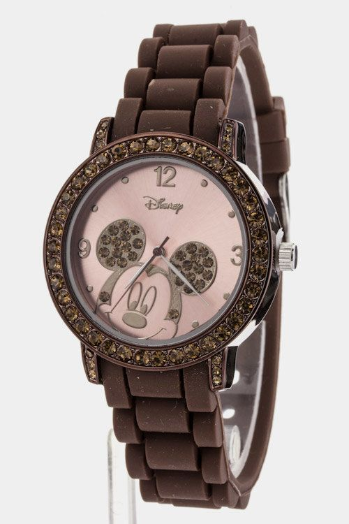 Mickey Mouse Watch (Brown) - $32