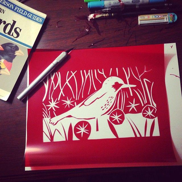 via Greg Pizzoli on @Instagram Follow @gregpizzoli #screenprint #rubylith #print #art #illustration