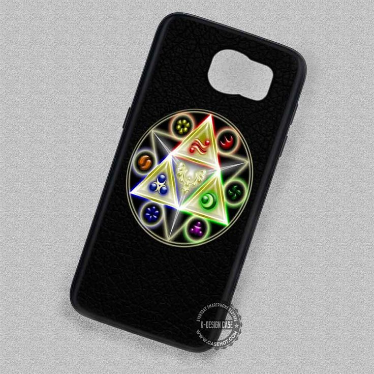 Leather Signs Triangles Legend Of Zelda Triforce - Samsung Galaxy S7 S6 S5 Note 7 Cases & Covers