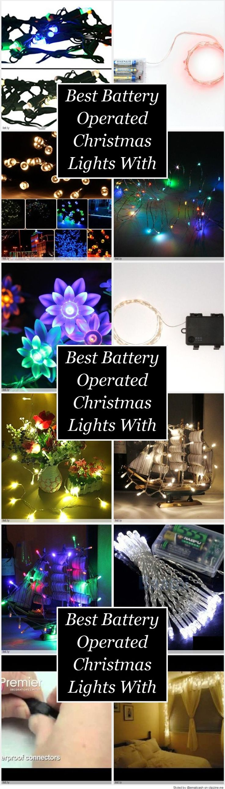 Best Battery Operated Christmas Lights With Timer - Battery operated Christmas…