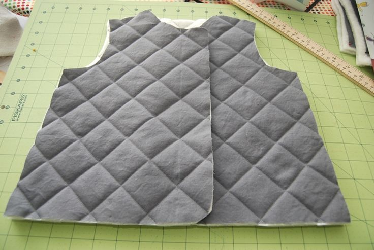 how to make a quilted jacket. have already adapted this to make a grown-up size vest.