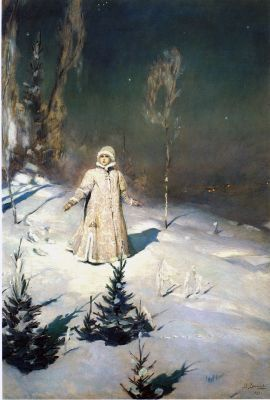 Виктор Михайлович Васнецов. Снегурочка 1899