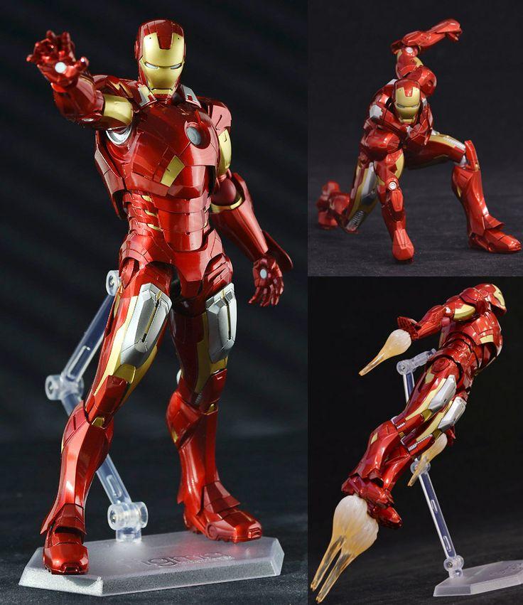 The Avengers  Iron Man Mark VII  Figma #217 (Good Smile Company, Max Factory)