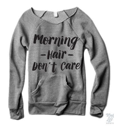 Morning Hair Don't Care Sweater
