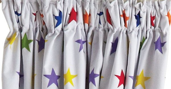Children's Blackout Curtains - Rainbow Star