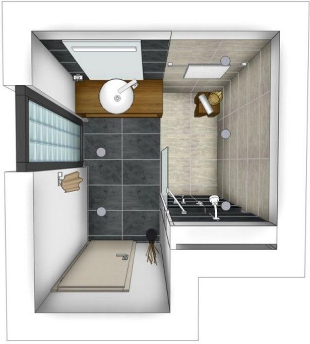 Ideen für kleine bäder mit dusche in 2020  Badezimmer