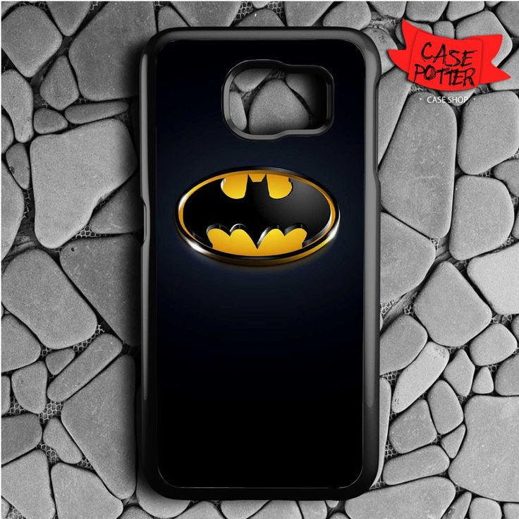 Batman Logo Samsung Galaxy S7 Black Case