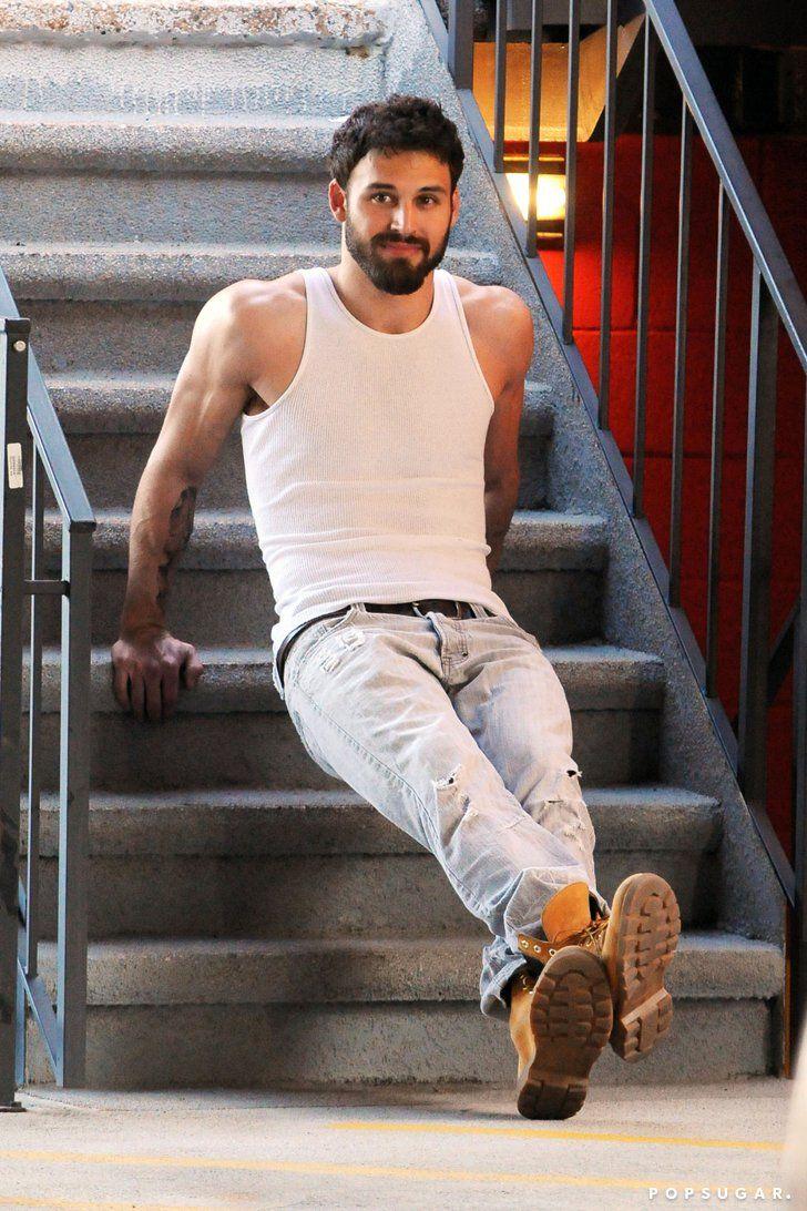 Pin for Later: Ryan Guzman's Shirtless Photo Shoot Will Turn You Into That Wide-Eyed Blushing Emoji