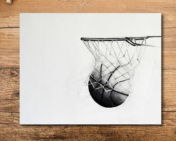 Baloncesto vivero Decor  arte infantil de Baloncesto