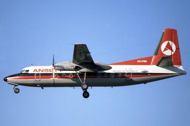 Ansett Airlines Of Australia F27- 400 (VH -FNQ)