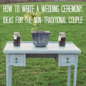 A Twist on the Traditional: Making the Ceremony Our Own - Signed by Soden THIS IS PERFECT!