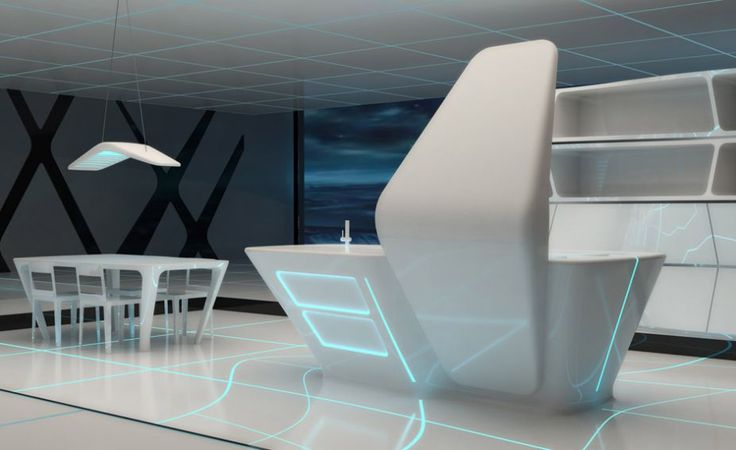 AquiliAlberg Conceives Amazing Kitchen And Dining Area For The  Participation Of Ernestomeda™ At U201cTRON Designs CORIAN®u201d At The Next Milan  Week Of Designu2026