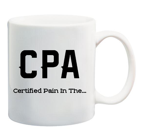 CPA Accountant Tax Season Funny Mug