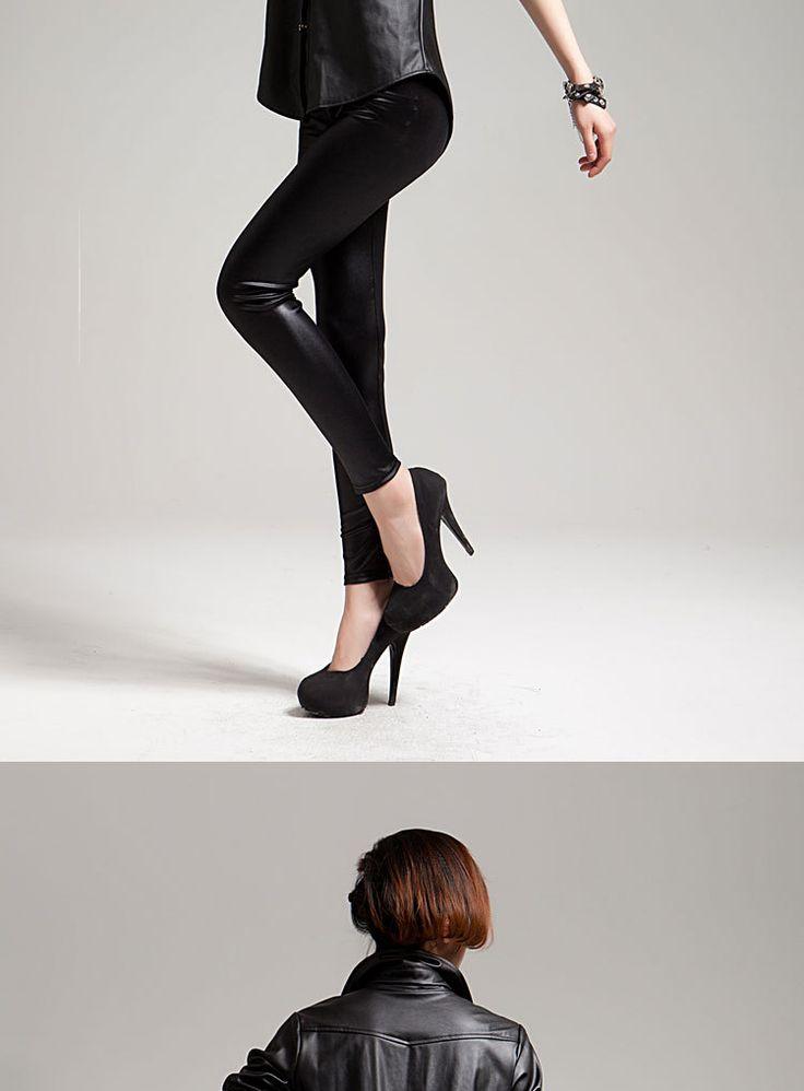 Aliexpress.com: Acheter Nouveau Faux Jambières En Cuir Sexy De Mode taille Haute Stretch Crayon Femmes Leggings Sexy Leggings Femmes Taille Libre de leggings tout-petits fiable fournisseurs sur MODE JEWELRY Co.,Ltd