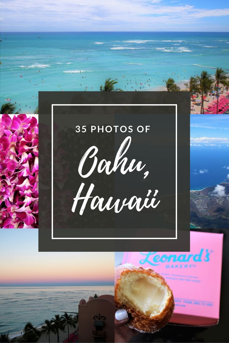 Oahu, Hawaii is such a gorgeous island. Full of crazy beautiful landscapes, delicious food and a lot of culture.