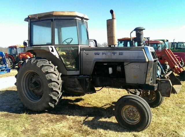 195 White Tractor : Best images about white tractors on pinterest the