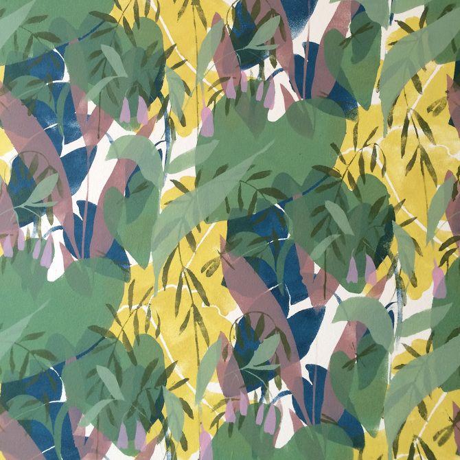 atelier murals - GREENHOUSE prints & illustrations by Lotte Dirks