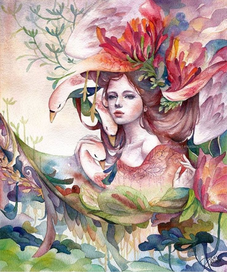Four Elements Watercolour Artist Tuffytats: 8 Best Margaret Morales Images On Pinterest
