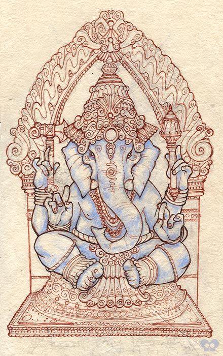 Ganesh by ~OGmouse on deviantART
