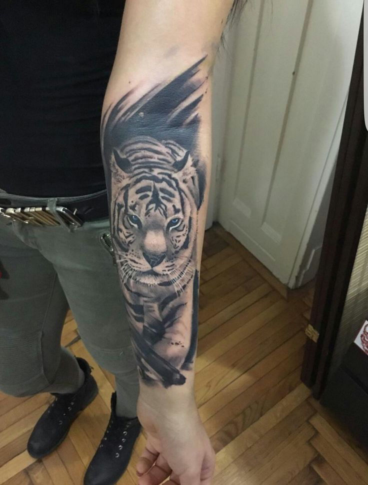 Tiger tatto