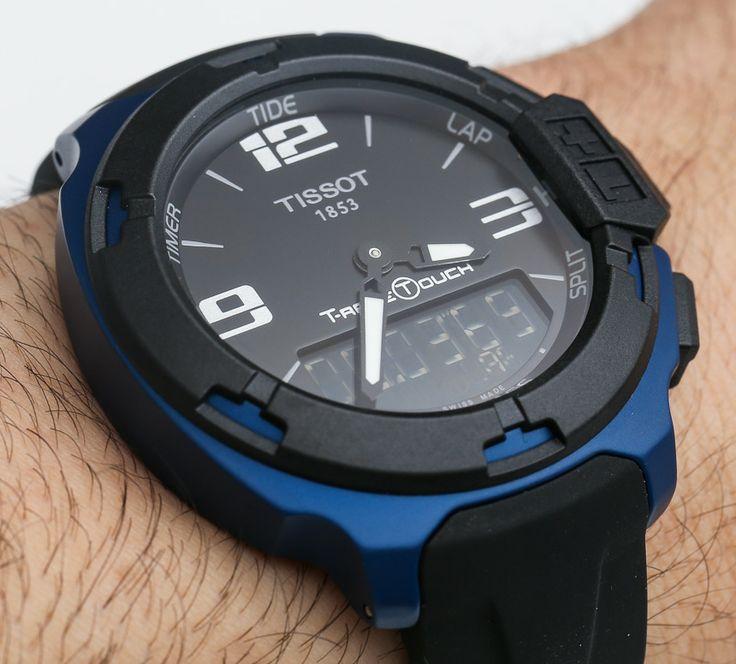 Tissot T-Race Touch Aluminum Watch Hands-On