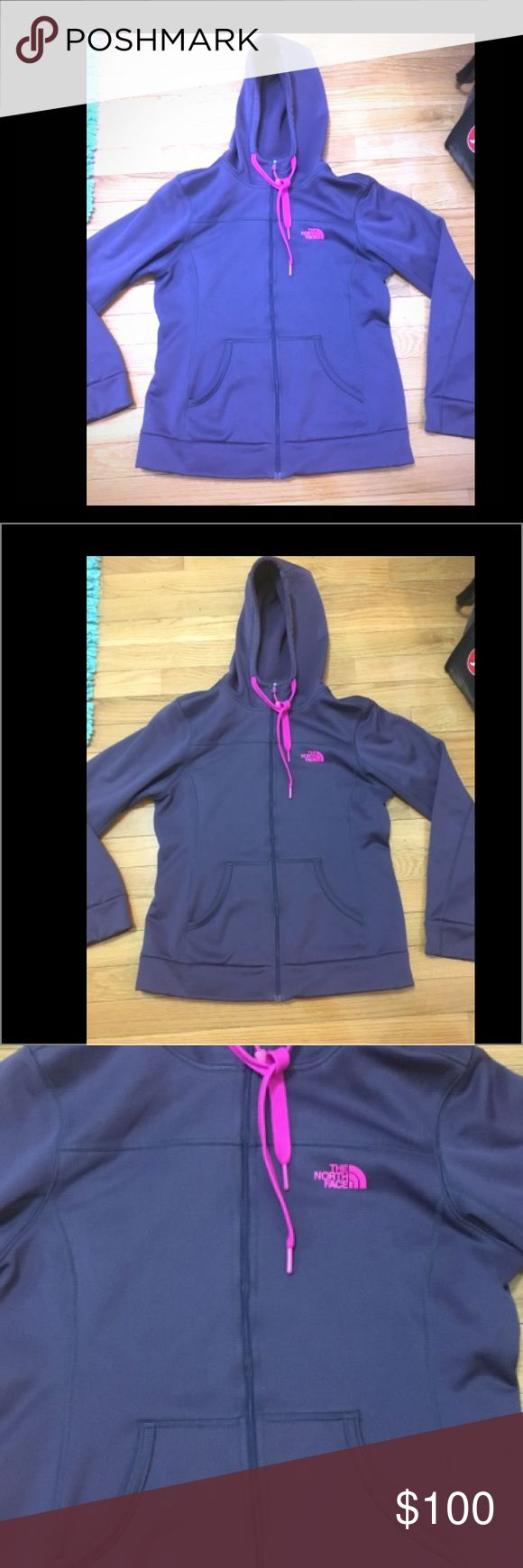 North Face purple zip up hoodie EUC. hardly used. ONLY LOOKING TO SELL. No trades. Please use offer button if interested. Open to reasonable offers.  Lmk if I can answer any questions for you. Thank you for visiting my closet. Comeback again! 😀 North Face Jackets & Coats