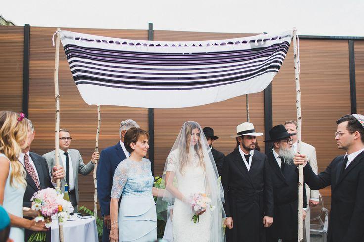 "Mordechai ""Mister Mort"" Rubinstein and Sara Brown's Traditional Brooklyn Wedding"