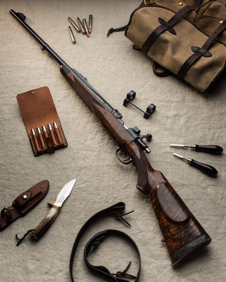 Westley Richards .375 Bolt Action rifle built on original Oberndorf Magnum Mauser.