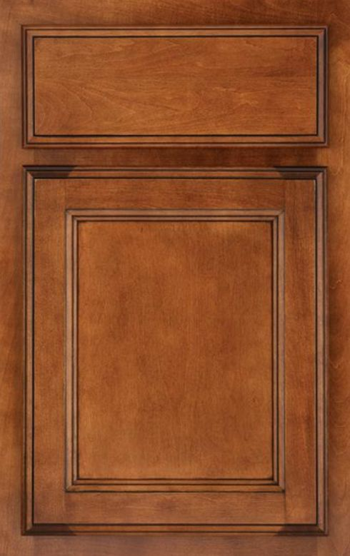Schuler Cabinetry Allentown Maple Rumberry Ebony Glaze