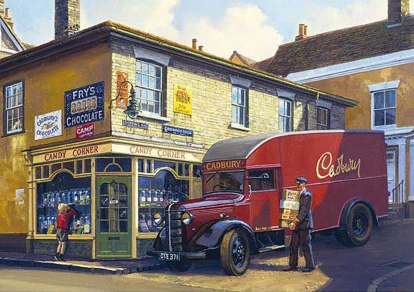 Candy Corner - by Malcolm Root
