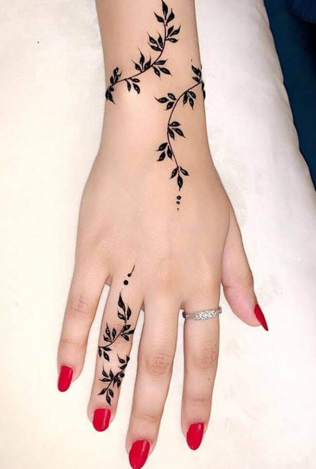 50 Kolkata Mehndi Design Henna Design March 2020 In 2020 Henna Tattoo Designs Simple Simple Henna Tattoo Finger Henna Designs