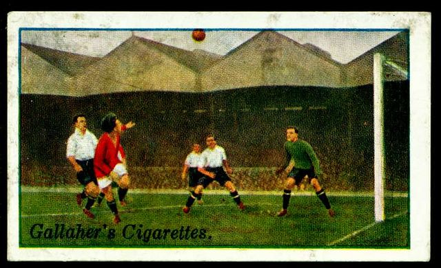 Cigarette Card - Arsenal v Bury | Flickr - Photo Sharing!